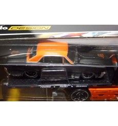 Maisto - Transport - 1965 Pontiac GTO and Flatbed Wrecker Set