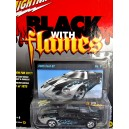 Johnny Lighnting Black with Flames - Ford GT