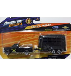 Maisto Heartland Haulers - Ford F-150 and  Horse Trailer