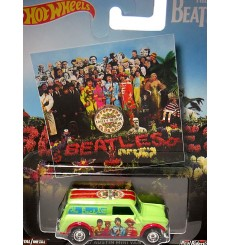 Hot Wheels Nostalgia - Pop Culture - The Beetles - Sgt Pepper 1967 Austin Mini Van