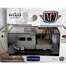 M2 Machines Auto Thentics VW - 1959 VW Double Cab Pickup Truck with Rack