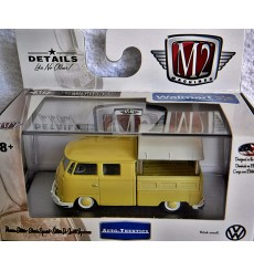 M2 Machines Auto Thentics VW - 1959 VW Double Cab Pickup Truck with Canopy