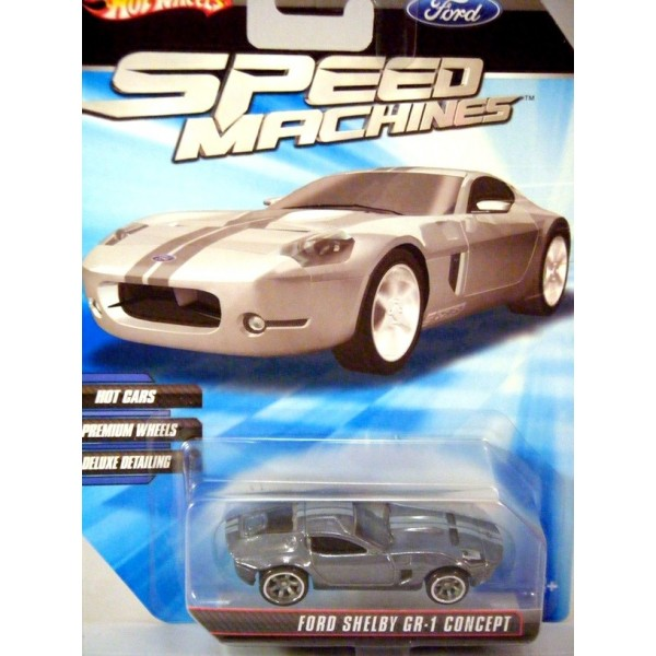 Hot Wheels Speed Machines Ford Shelby Gr Concept