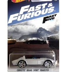 Hot Wheels Fast & Furious - Chevrolet Corvette Grand Sport Roadster