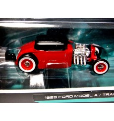 Maisto - Tow & Go - 1929 Ford Model A Coupe and Traveler Trailer Set