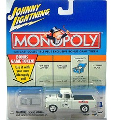 Johnny Lightning Monopoly Water Works 1955 Chevrolet Cameo Pickup Truck