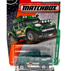 Matchbox - Swamp Raider -  Off-Road 4x4 Pickup Truck