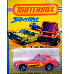 Matchbox - No. 64  Fire Chief Car