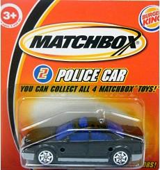 Matchbox Promo - Police Car