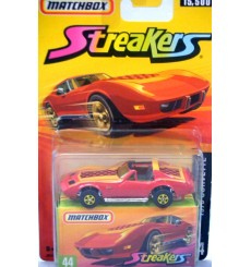 Matchbox Superfast Streakers Chevrolet C3 Corvette Coupe