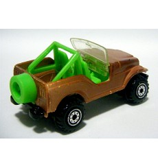 """Hot Wheels """"Roll Patrol"""" Jeep CJ-7"""
