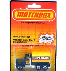 Matchbox Peterbilt SUPERGAS Tanker