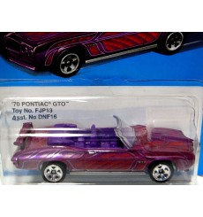 Hot Wheels - Ultra Cool Retro Series - 1970 Pontiac GTO Convertible