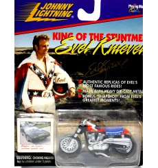Johnny Lightning Evil Knievel Stunt Motorcycle
