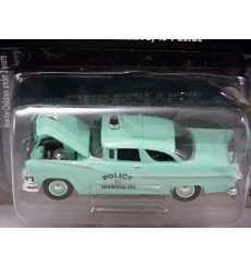 Racing Champions Police - Harwood Heights IL 1956 Ford Victoria Police Car