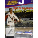 Johnny Lightning Evil Knievel Stunt Motorcycle - Snake River Canyon X-2 Sky-Cycle