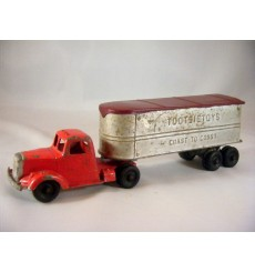 TootsieToy Mack L-Line Van with TootsieToys Trailer