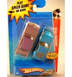 Hot Wheels Speed Challenge Set - Classic 56 Merc vs Nissan Z Car