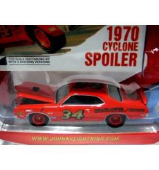 Johnny Lightning Classic Plastic Series - 1970 Mercury Cyclone Spoiler