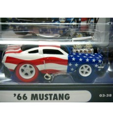 Muscle Machines Stars and Stripes Chase Car - 1966 Ford Mustang Fastback