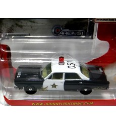 Johnny Lightning - Area 51 - Ford Fairlane Police Car