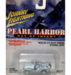 Johnny Lighting Pearl Harbor Day of Infamy - US Navy Willys Jeep