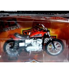 Maisto Harley Davidson Series 30 - 1972 XR750 Racing Bike