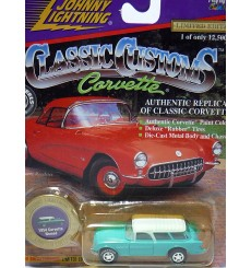 Johnny Lightning Classic Customs Corvettes – 1954 Chevrolet Corvette Nomad