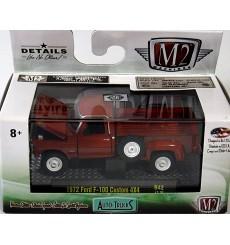 M2 Machines Auto-Trucks 1972 Ford F-100 Custom 4x4 Pickup Truck