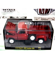 M2 Machines Auto-Trucks 1972 Ford F-100 Custom 4x4 Pickup Truck