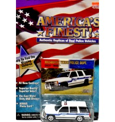 Johnny Lightning - America's Finest - Mesquite, TX Police Chevy Tahoe