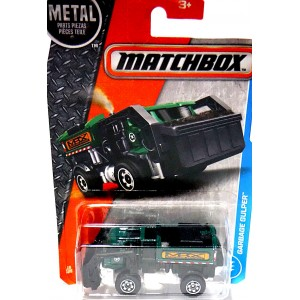 Matchbox Garbage Gulper - Front Load Garbage Truck