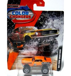 Matchbox - Color Changers - 1968 Ford Mustang 4x4
