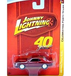 Johnny Lightning 40th Anniversary R-6 1969 Chevrolet Camaro RS/SS