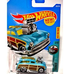 Hot Wheels New Models - Surf & Turf - Custom Mercury Surf Woody