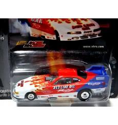 Johnny Lightning  Racing Machines - Red Line Oil  Dodge Avenger Funny Car