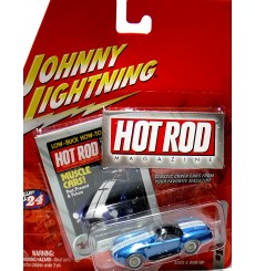 Johnny Lightning Hot Rod Magazine -  Shelby Cobra 427