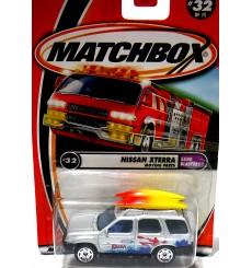 Matchbox Nissan Xterra Lifeguard Truck