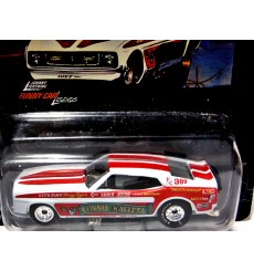 Johnny Lightning Funny Car Legends: Connie Kalitta Bounty Hunter 1973 Ford Mustang Mach 1 NHRA Funny Car