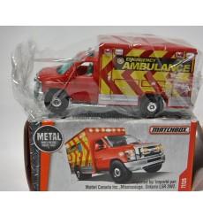 Matchbox - Ford E-350 EMT Ambulance