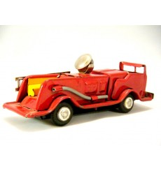Postwar Japanese Tin Toy Fire Truck