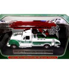 Hess - 2007 Miniature Hess Fire Rescue Truck