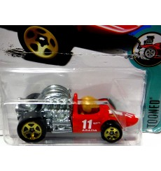 Hot Wheels New Models - Tooned - Open Wheel Race Car - Head Starter