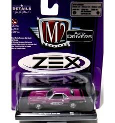 M2 Machines Drivers -  ZEX - 1971 Plymouth Cuda 383