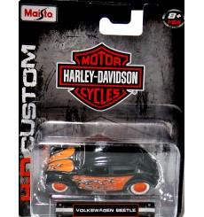 Maisto Harley Davidson Customs - Volkswagen Beetle