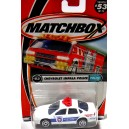 Matchbox Wentworth Chevrolet Impala Police Car