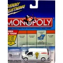 Johnny Lightning Monopoly Electric Company GMC Savana Van