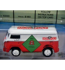 Johnny Lightning Monopoly Free Parking VW Van KB Exclusive