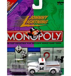 Johnny Lightning Monopoly Reading Railroad 1940 Ford Pickup Truck