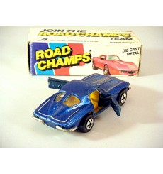 Road Champs Boxed - 1963 Chevrolet Corvette Split Window Corvette